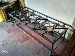 Large scale gas cooker