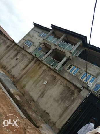 A newly built and decent 2bedroom flat at abiola farm Est. Ayobo Lagos Ayobo - image 1