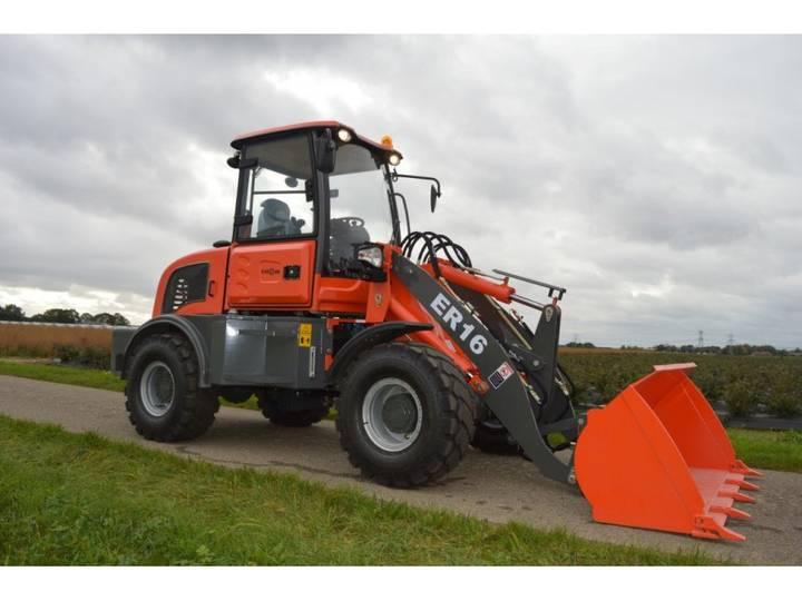 Everun ER16 shovel NIEUW 2019 LEASE €292.- (bak/vorken) - 2019