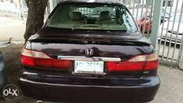 Super clean Honda accord baby boy 2000 model V6 just like tokunbo