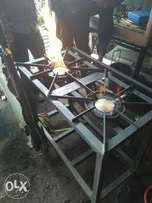 Gas cooker two barner