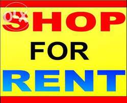 Shop for rent on first floor at 1.2m