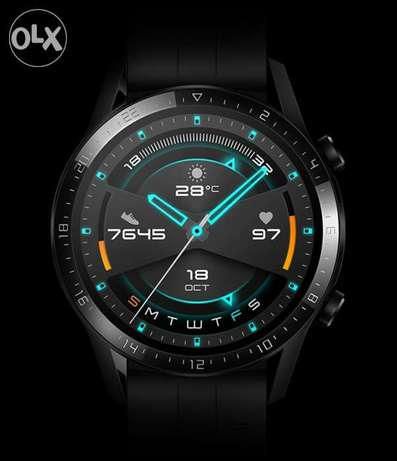 HUAWEI Wacth GT2 black color it's new sealed