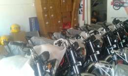 Brand new TVS HLX 100CC, 125CC and STAR BASIC motorbikes