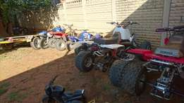Yamaha Banshee Stripping for Spares