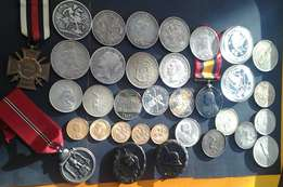 war medals , coins, bank notes wanted