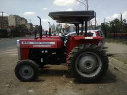 240 Massey Ferguson, 2016 model, 50 horse Power with 2disc plough