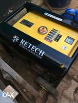 Retech petrol generator in perfect condition