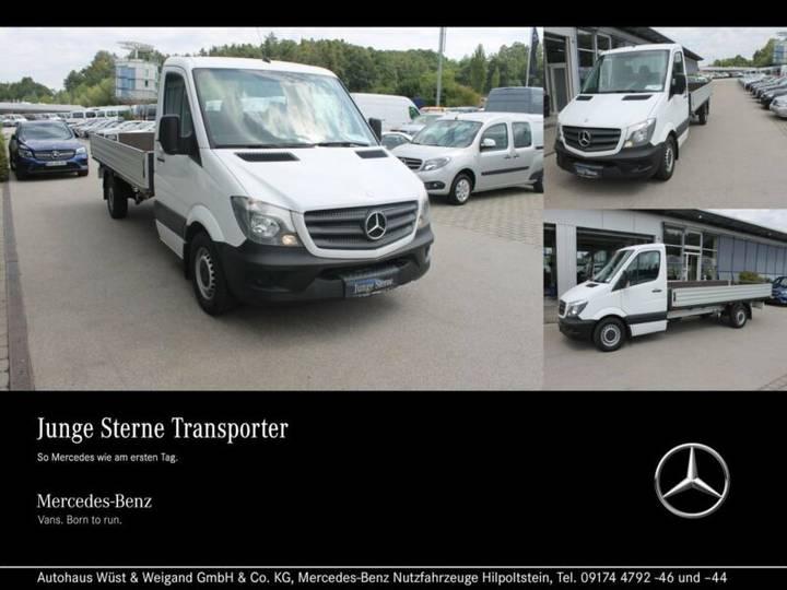 Mercedes-Benz Sprinter 313 CDI Pritsche+Maxi+Klima+Standheizg - 2015
