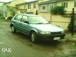 toyota tazz one owner from new
