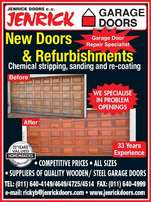 Garage Doors - Gates - Picot doors - Refurbishments