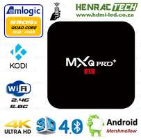 Android 6 TV Box, MXQPro+, 2GB RAM, S905X Quad-Core CPU, Kodi17.1