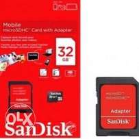 SanDisk Original Memory Card + Adapter - 32gb