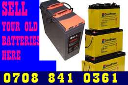 Scrap inverter Battery in Alausa Ikeja