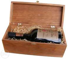 Rare 1930 KWV Muscadel in wooden box - 2 left