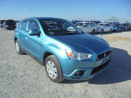 Mitsubishi RVR New Shape 2010 Model Blue Color