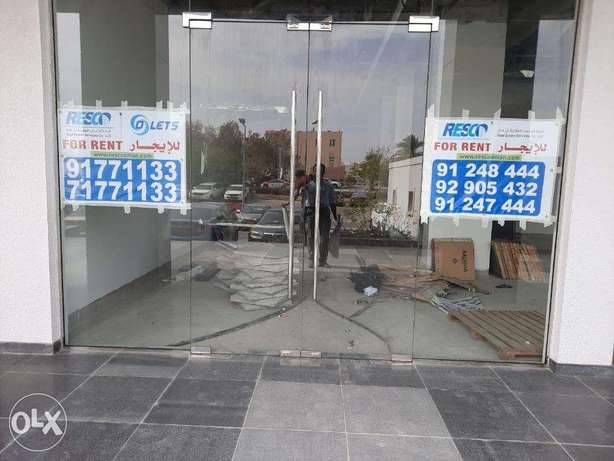 For rent shop at Muscat Hills