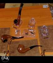 Elegant tobacco smoking pipes on quick sale. Buy 3 get 1 free