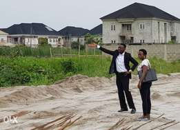 Plots of estate land for sale at monastery road, Sangotedo, Ajah