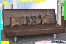 Touch Leather Sleeper Couch