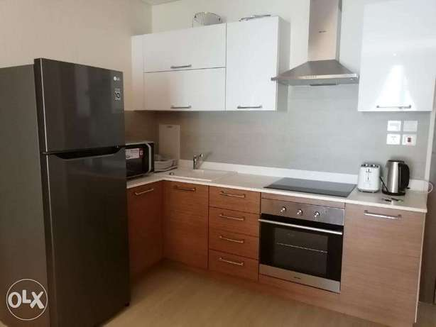 Modern Style 1 BR FF Apartment in Juffair For Rent جفير -  4