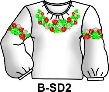 Заготовка для вишивання дівчачої сорочки бісером або нитками Тернополь -  изображение 1 91ca475eb21e6