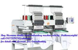 Ricomma CHT/MT 1502 computer Embroidery machine selling Nigeria 2017