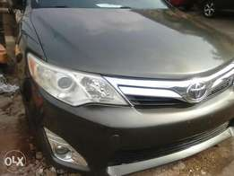 Toyota Camry 2012 model fabric leather seats