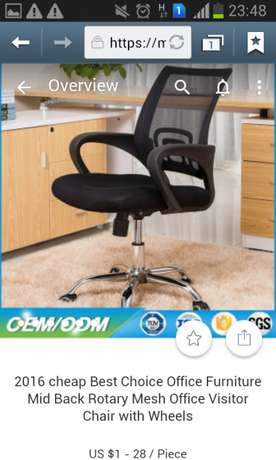 Orthopedic Mesh Chairs Westlands - image 3