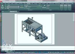 Learn AutoCAD 2D and 3D