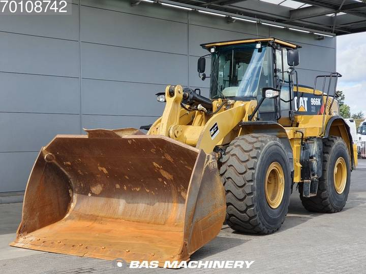 Caterpillar 966KXE German dealer machine - 80% tyres - 2014