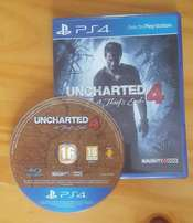 Uncharted 4: A Thief's End PS4 perfect condition For R300