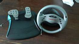 PC steering wheel + pedals