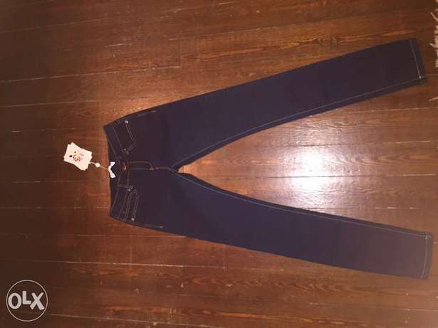 New womens jeans with ticket size13-14 years