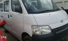 Toyota townace white 2010 model