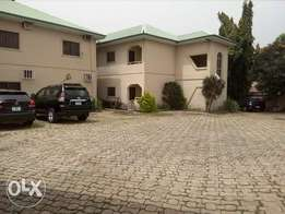 4units of 4bedroom block of flat with BQ for sale at Jabi
