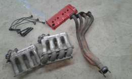 Abf intakes one branch abf tappet cover and plug leads r3000neg