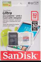 SD Memory Cards 32 and 64 GB
