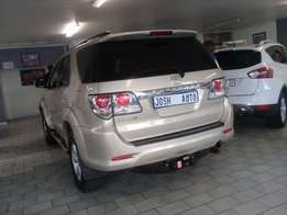 Pre owned 2012 Toyota Fortuner D4D 4X4
