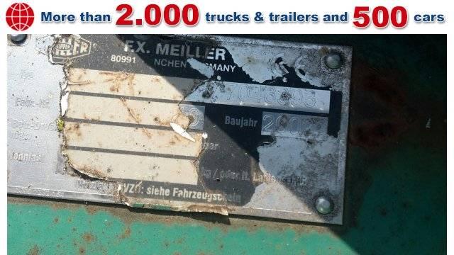 MEILLER AK 16 T Tele-Absetzaufbau - 2002
