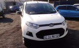 Ford Ecosport 1.5 Model 2014 5 Door Colour White Factory A/C&CD Player