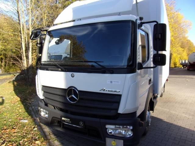 Mercedes-Benz Atego 818L, BÄR Ladebordwand, Klima, Plywood Koffe Euro6 AHK ZV - 2015 - image 2