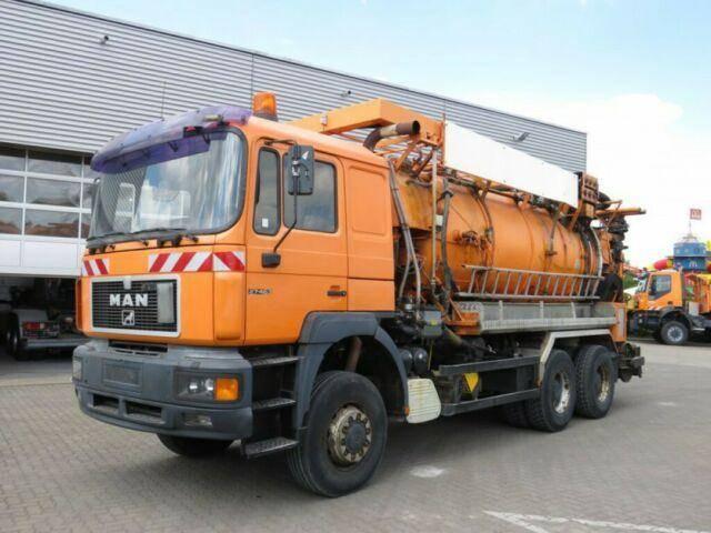 MAN F2000 27.463 6x6 Saug + Spulwagen Kombi - 1998