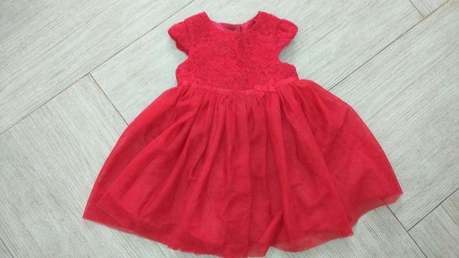 Плаття George червоне на 9-12 м  250 грн. - Одяг для дівчаток Івано ... ec5db62d29307