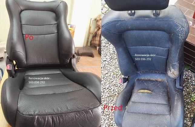Zaktualizowano Renowacja regeneracja skór foteli Autodetailing Malowanie Nie RI57