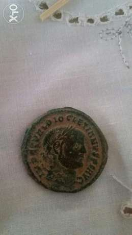 Roma Coin for Emperor Diocletian year 285 Ad