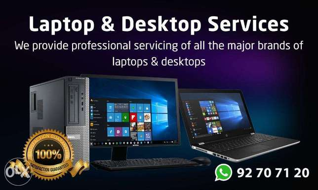 Laptop & Desktop Services