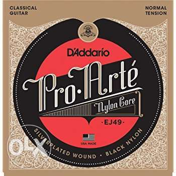 D'Addario Classical Guitar Strings EJ49