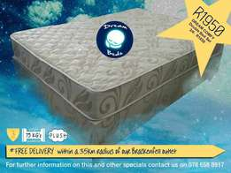 Free Delivery* New Double Mattress & Bed Base 3 Year Warranty