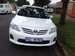 2013 Toyota Corolla 1.3 advance, mileage 91000 for sale